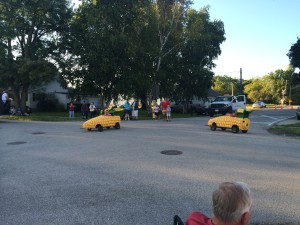 Maple Park Fun Fest parade - August 2014